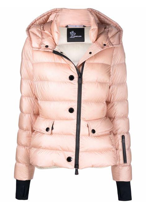 Piumino rosa Armonique con cappuccio in pelliccia di volpe MONCLER GRENOBLE | Piumini | ARMONIQUE-1A000-34-5307153K