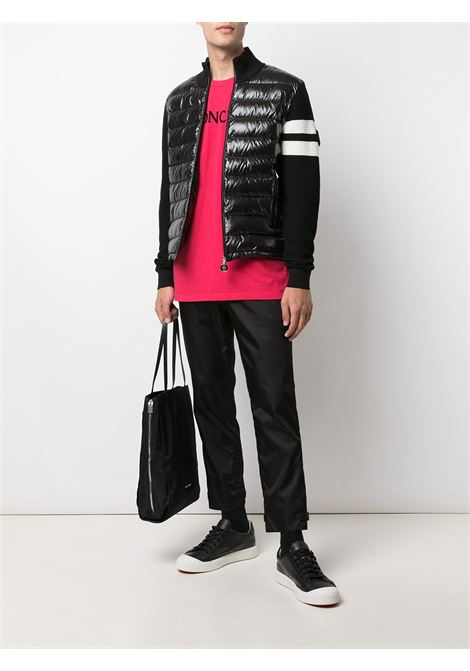 black virgin wool cardigan featuring down-feather filling MONCLER |  | 9B000-02-M1131999