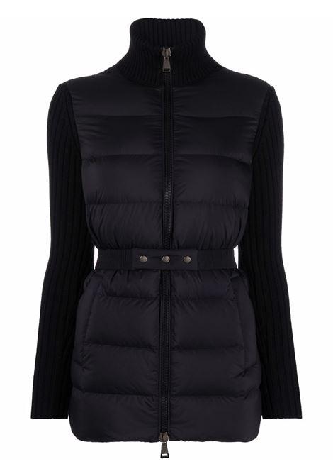 Black feather down multi-panel jacket  MONCLER |  | 9B000-16-M1131999