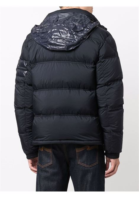 Blue Delaume feather down puffer jacket  MONCLER      DELAUME 1A000-05-53333776