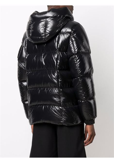 Black Dougnac padded hooded down coat   MONCLER      DOUGNAC 1A000-55-68950999
