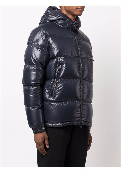 Dark blue feather down Ecrins padded down jacket  MONCLER      ECRINS 1A001-68-68950742