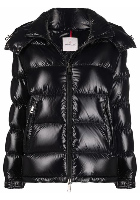Black feather down Fustet puffer jacket  MONCLER |  | FUSTET 1A000-84-68950999