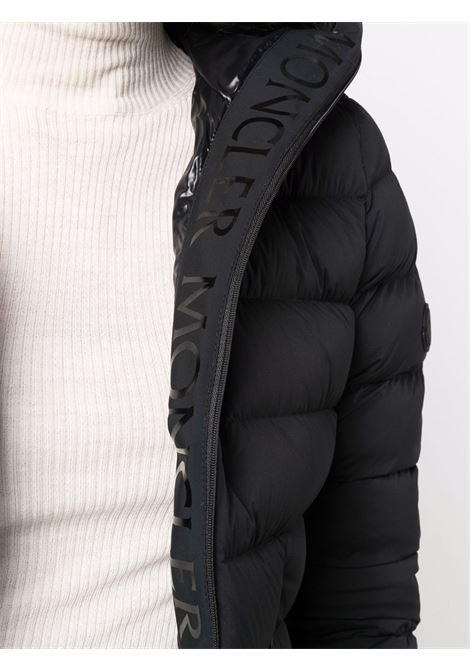 Black feather down Herbe hooded puffer jacket  MONCLER      HERBE 1A000-23-53132999