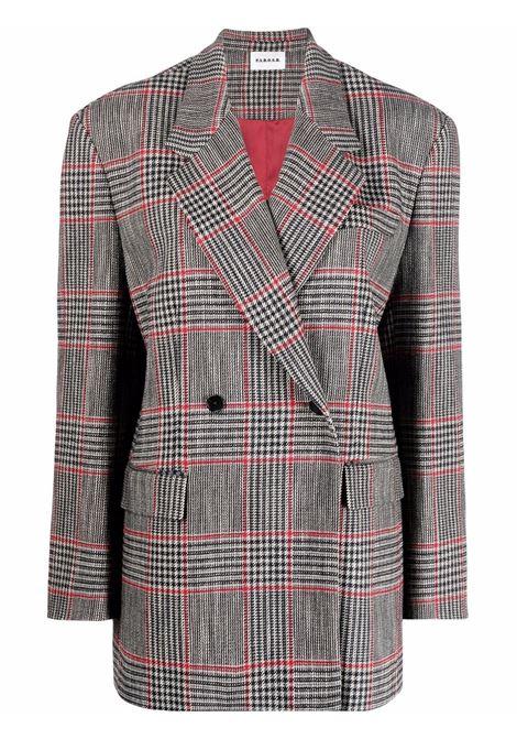 multicolored cotton-wool checked double-breasted blazer  P.A.R.O.S.H. |  | D420115-COQUADRO837