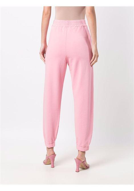 Black cotton track pants featuring grey Pinko logo  PINKO |  | 1G16VY-Y7JQP25