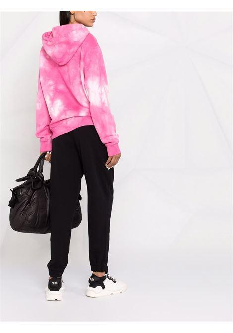 Pantaloni sportivi neri in cotone con logo Pinko grigio PINKO | Pantaloni | 1G16VY-Y7JQZ99