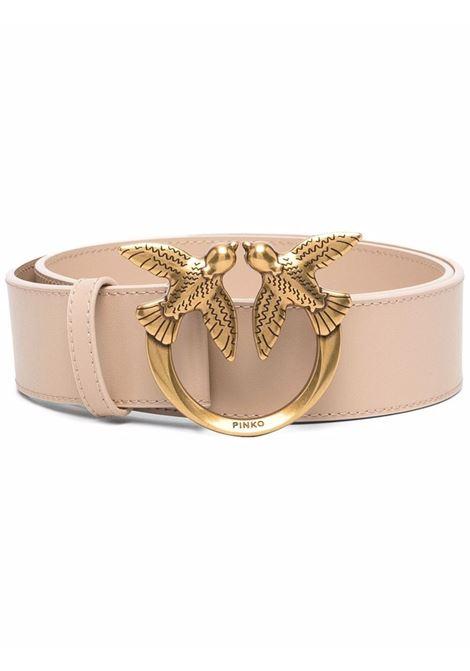 Beige leather Love Berry Hips 4cm belt  PINKO |  | 1H20X4-Y6XTC61