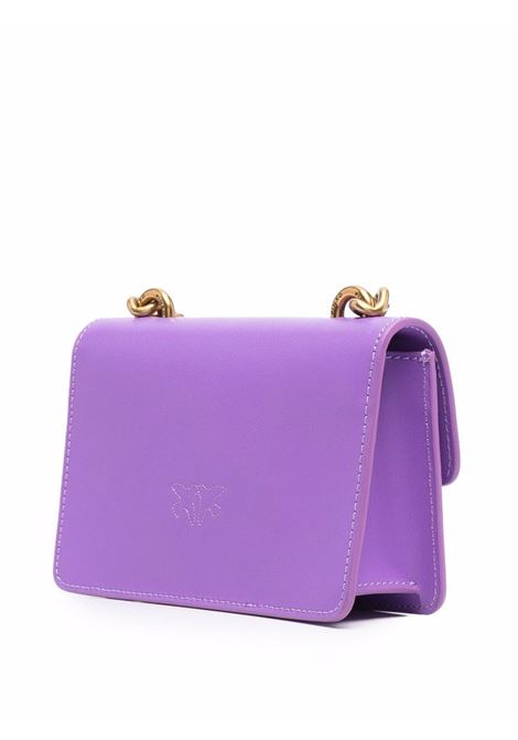Purple leather Love Baby Icon Simply shoulder bag  PINKO |  | 1P22A4-Y6XTW16