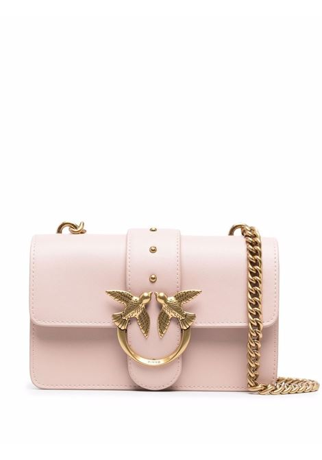 Rose pink leather Love Mini Icon Simply satchel bag  PINKO |  | 1P22AB-Y6XTO81