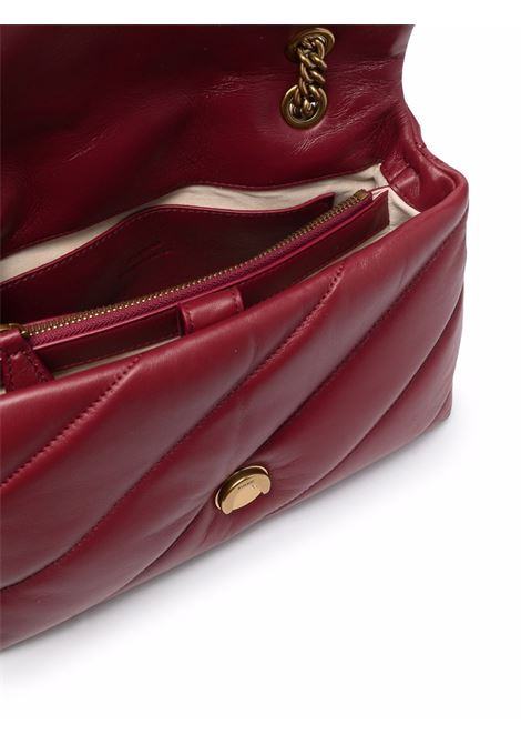 Wine red leather maxi Classic Love Puff shoulder bag  PINKO |  | 1P22AY-Y6Y3R44