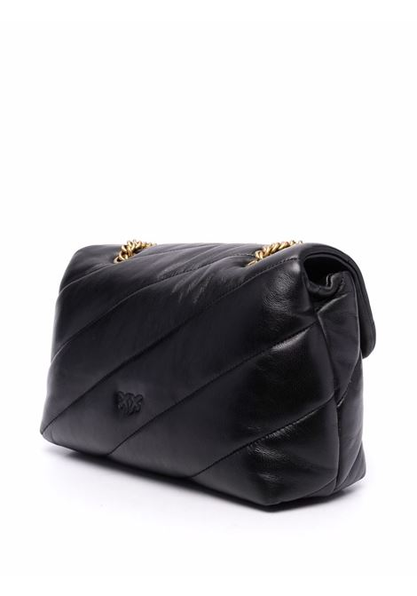 Black leather Love Classic quilted bag  PINKO |  | 1P22AY-Y6Y3Z99