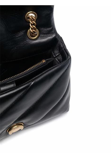 Borsa a tracolla in pelle nera Love Mini Puff Maxi Quilt PINKO | Borse a tracolla | 1P22B1-Y6Y3Z99