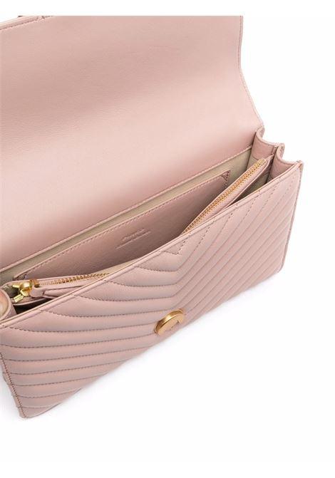 Borsa Love Classic Icon Quilt  rosa con trapuntatura chevron PINKO | Borse a tracolla | 1P22BT-Y7YFO81