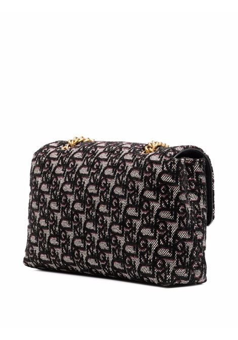 Black and violet LoveBirds quilted crossbody bag  PINKO |  | 1P22DT-Y7HSZJ2