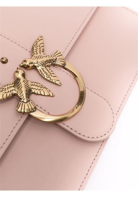 Borsa a spalla Love Classic Icon Simply in pelle rosa PINKO | Borse a tracolla | 1P22GE-Y6XTO81