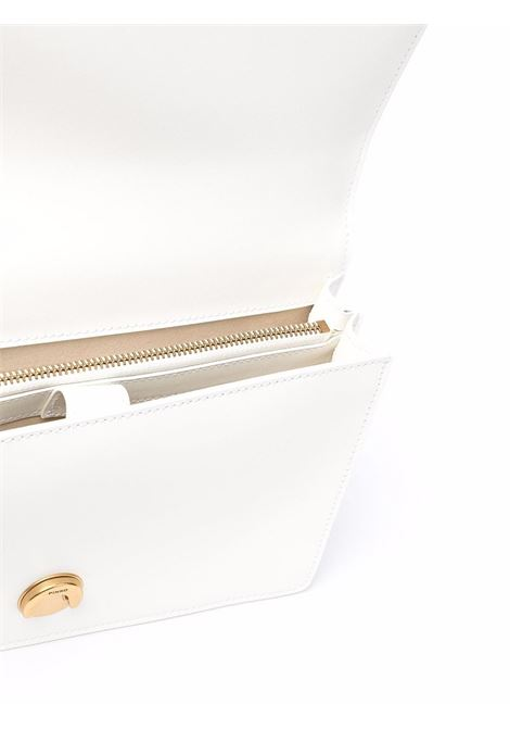Borsa a tracolla Love Classic Icon Simply in pelle bianca PINKO | Borse a tracolla | 1P22GE-Y6XTZ14