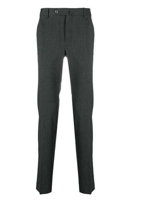 Pantaloni sartoriali slim fit in lana grigio antracite PT01 | Pantaloni | COKSTVZ00TVL-PO360240