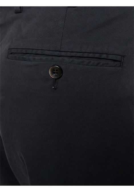 pantalone sartoriale cropped in cotone nero PT01 | Pantaloni | CPRTZ0Z00PRI-NK030990