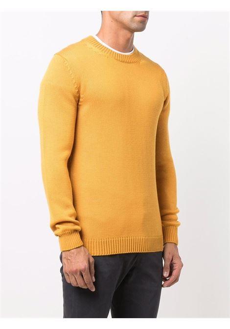 Yellow merino wool crew-neck jumper  ROBERTO COLLINA |  | RF0200143