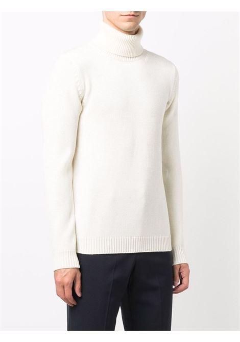 Ecru nude merino wool roll-neck jumper  ROBERTO COLLINA |  | RF0200302