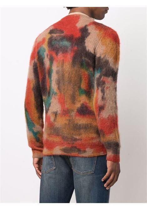 multicoloured tie-dye jumper  ROBERTO COLLINA |  | RF5500107