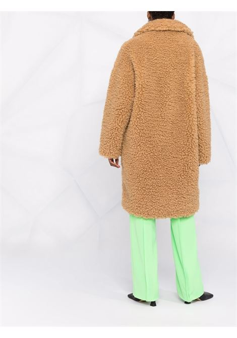 Brown Ankia cloudy teddy coat featuring faux-shearling design STAND STUDIO |  | ANIKA-61469-901187000