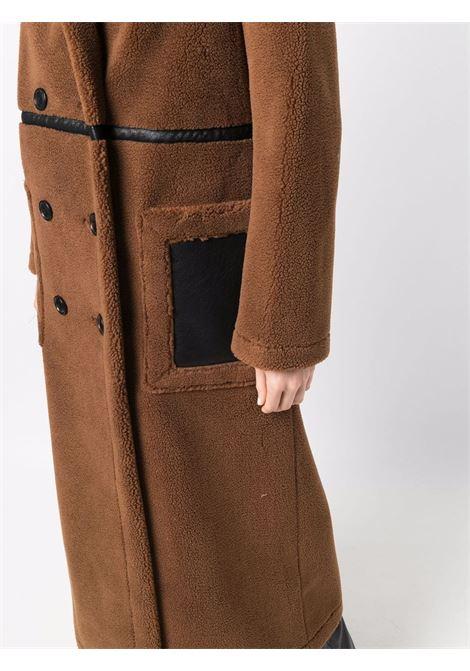Cappotto sartoriale doppiopetto marrone STAND STUDIO | Cappotti | BIBI-61497-961087000