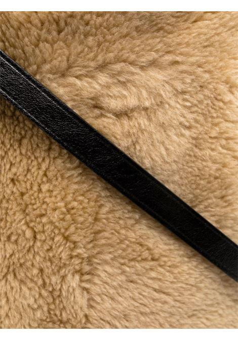 borsa tote beige in eco-pelliccia STAND STUDIO | Borse tote | LEIA-61473-945096200