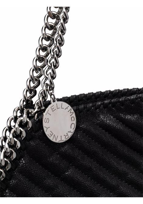 Borsa tote piccola Falabella nera con trapuntatura a chevron STELLA MC CARTNEY | Borse tote | 261063-W88591000