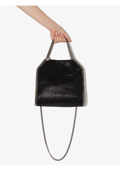 Black mini Falabella tote bag featuring dark silver chain STELLA MC CARTNEY |  | 371223-W91321000