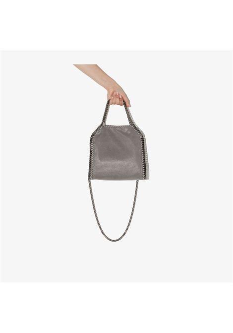 Grey faux-leather mini Falabella shoulder bag  STELLA MC CARTNEY |  | 371223-W91321220