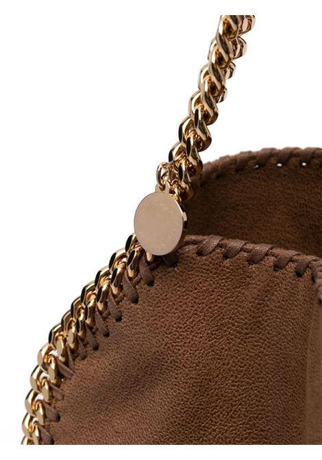 Pecan brown faux leather Falabella foldover tote bag  STELLA MC CARTNEY |  | 371223-W93552200