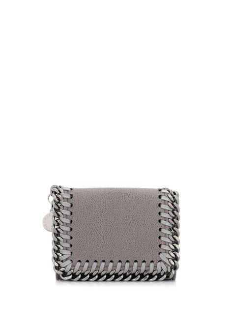 portafoglio Falabella in ecopelle grigio con catena argentata STELLA MC CARTNEY | Portafogli | 521371-W91321220