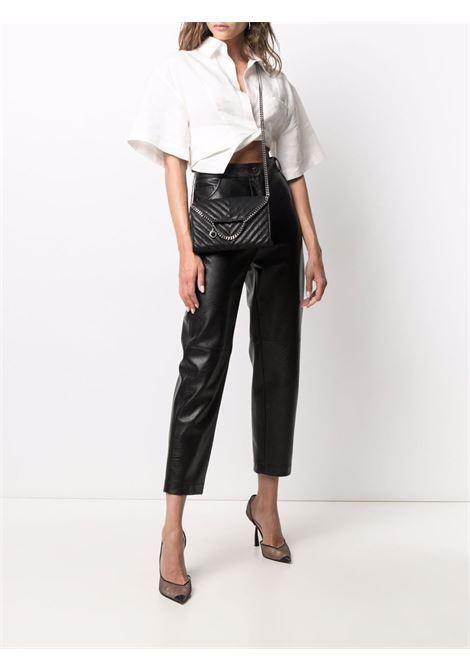 black faux-leather quilted crossbody bag  STELLA MC CARTNEY |  | 581238-W88591000