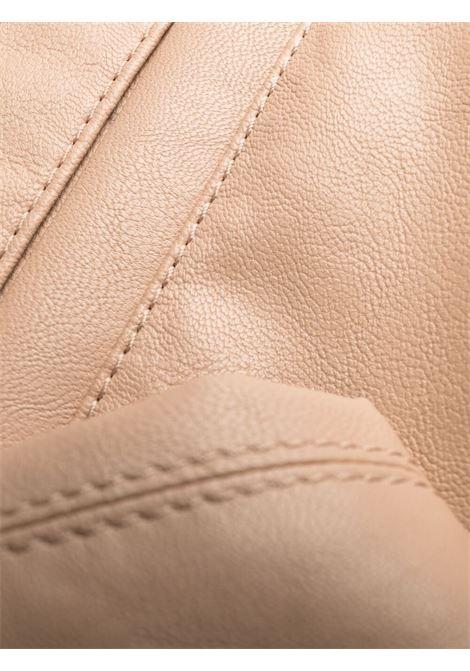Pantaloni Kira in ecopelle rosa chiaro con vita elasticizzata STELLA MC CARTNEY | Pantaloni | 603599-SKB205765