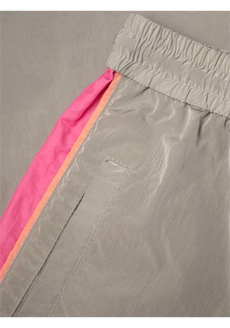 Grey and pink cotton Kira side-stripe track pants  STELLA MC CARTNEY |  | 603722-SSA141202