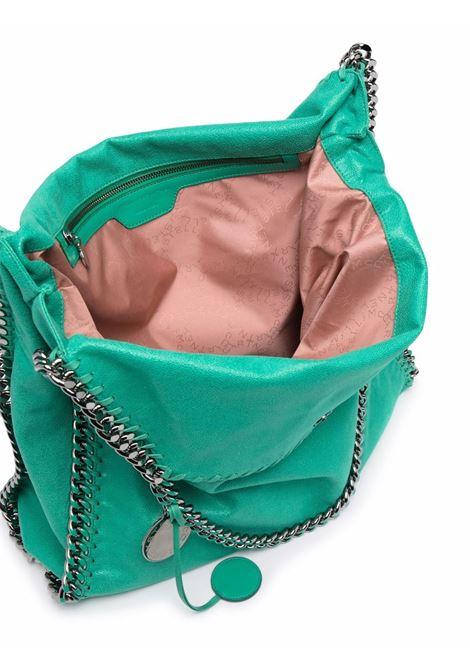 Bright green faux leather large Falabella tote bag  STELLA MC CARTNEY |  | 700228-W88273704