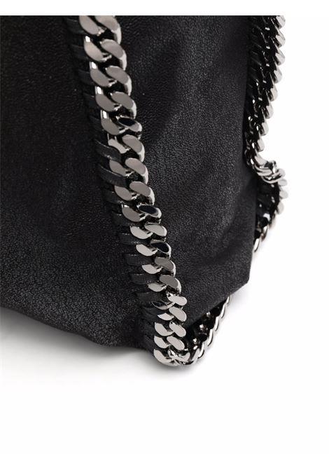 Black faux leather maxi Falabella tote bag   STELLA MC CARTNEY |  | 700228-W91321000