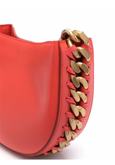 Orange faux leather small Frayme shoulder bag  STELLA MC CARTNEY |  | 700237-W88396512