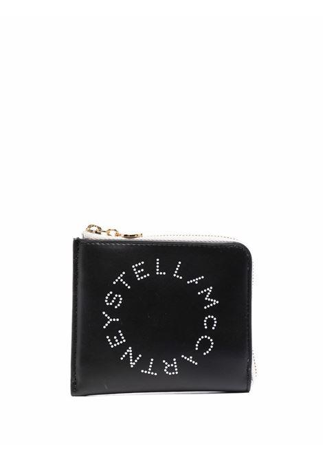 Black and white faux leather Stella Logo cardholder  STELLA MC CARTNEY |  | 700253-W88561000