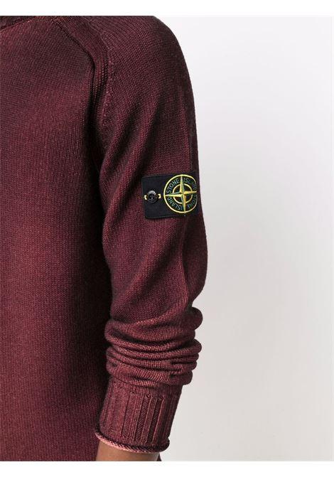 Red wool rollneck jumper  STONE ISLAND |  | 7515561A8V0012