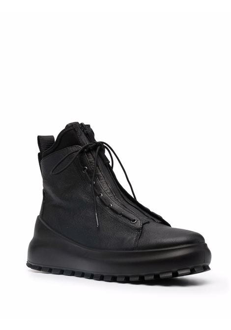 black zip-up high-top sneakers  STONE ISLAND |  | 7515S0259V0029