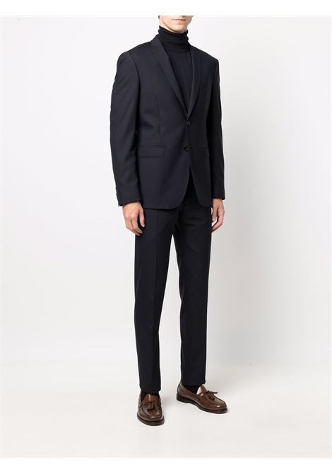 Navy-blue stretch-virgin wool single-breasted suit  TONELLO |  | 01AD240Y-2747U603