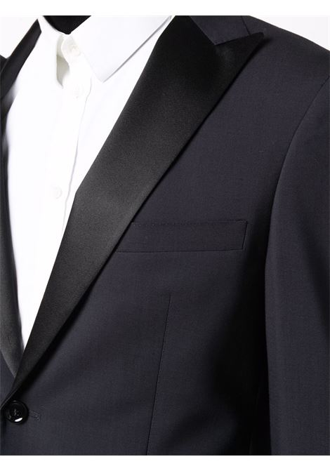 Navy-blue stretch virgin single-breasted wool suit  TONELLO |  | 01AD318K-2747U603