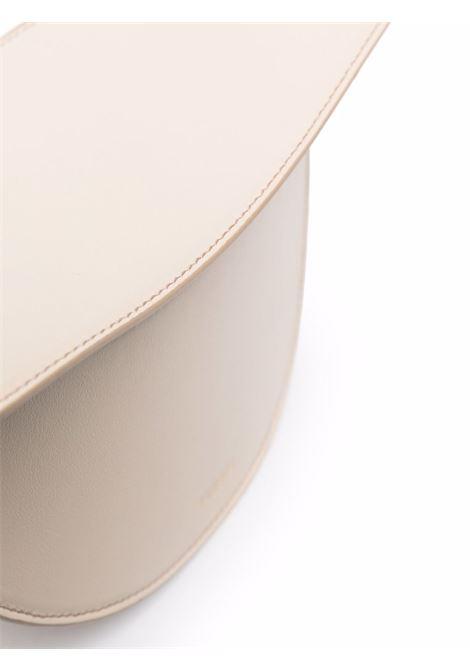 Oatmeal leather Doristote featuring curve-edge body YUZEFI |  | DORIS-YUZICO-HB-DO01