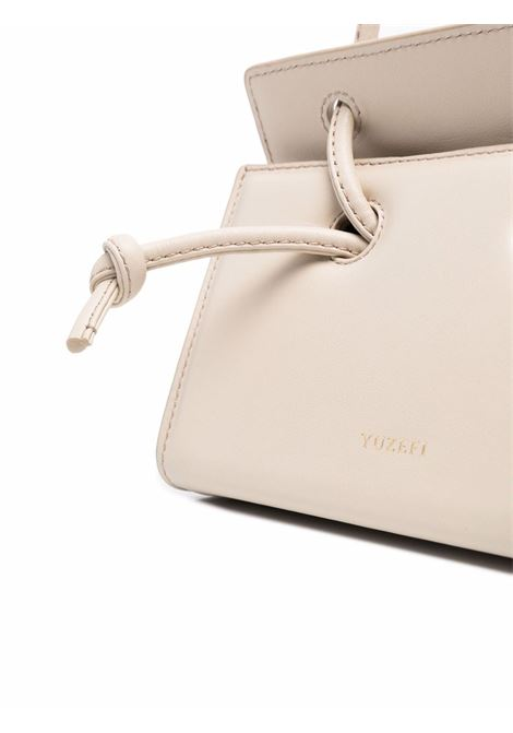Oatmeal leather Taco crossbody tote bag   YUZEFI |  | MINI TACO-YUZICO-HB-TM01