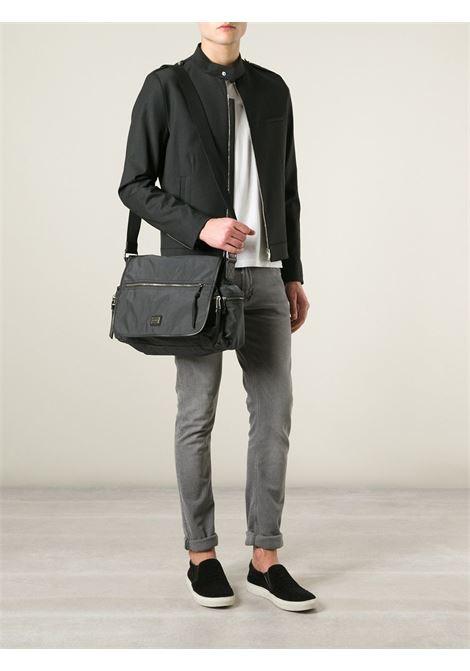 black messenger bag with front Dolce & Gabbana logo DOLCE & GABBANA |  | BM0845-A4522GRIGIO ANTRACITE