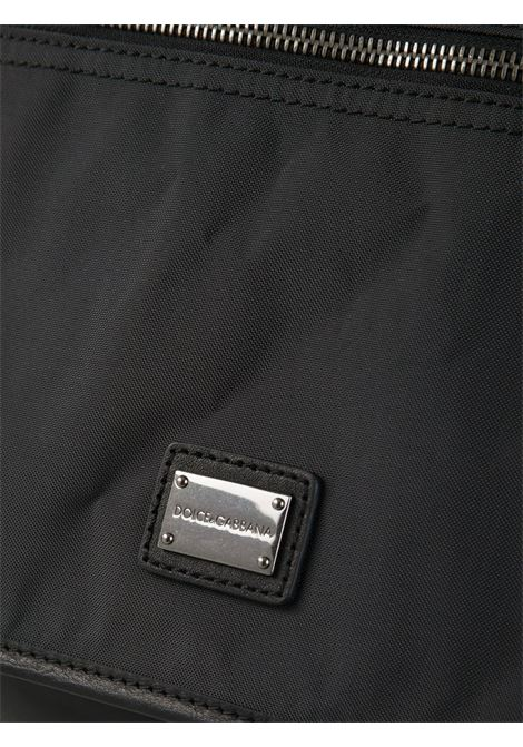 borsa messenger nera con logo Dolce & Gabbana DOLCE & GABBANA   Borsa   BM0845-A4522GRIGIO ANTRACITE
