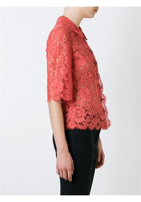 orange cotton lace shirt DOLCE & GABBANA |  | F5G31Z-FLM9VARANCIO